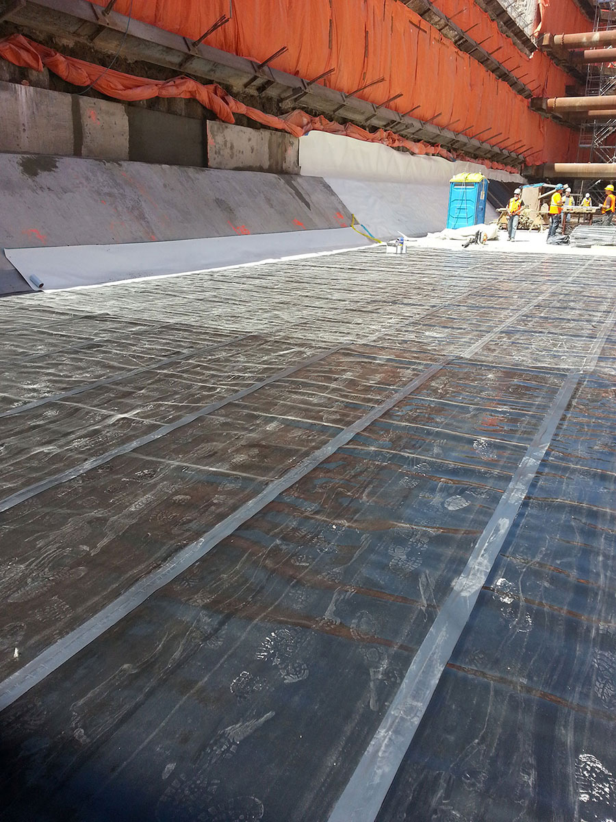 Bentonite Waterproofing Membrane : Aquanorth contracting ltd