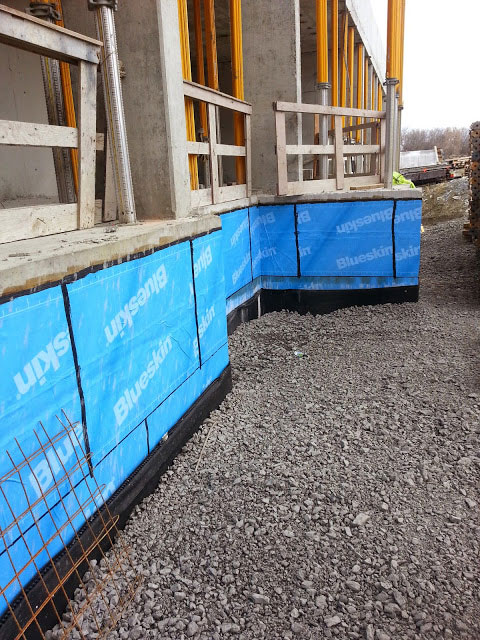 Sheet Applied Waterproofing Membrane : Aquanorth contracting ltd