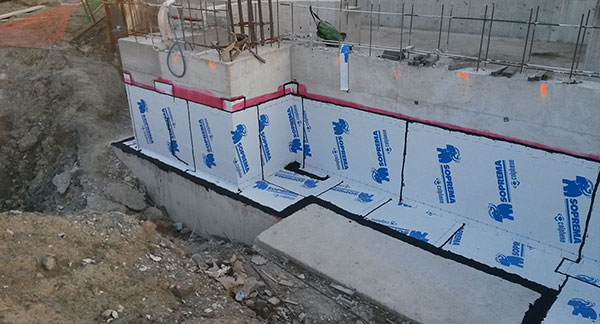 Self-Adhered Sheet Waterproofing Membrane
